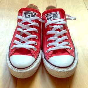 Converse All Star Chuck Taylors - worn only once!